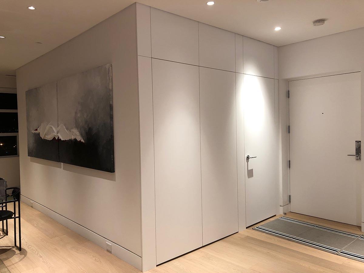 SKONA Firoz Coat Closet#1 and Powder Room Door