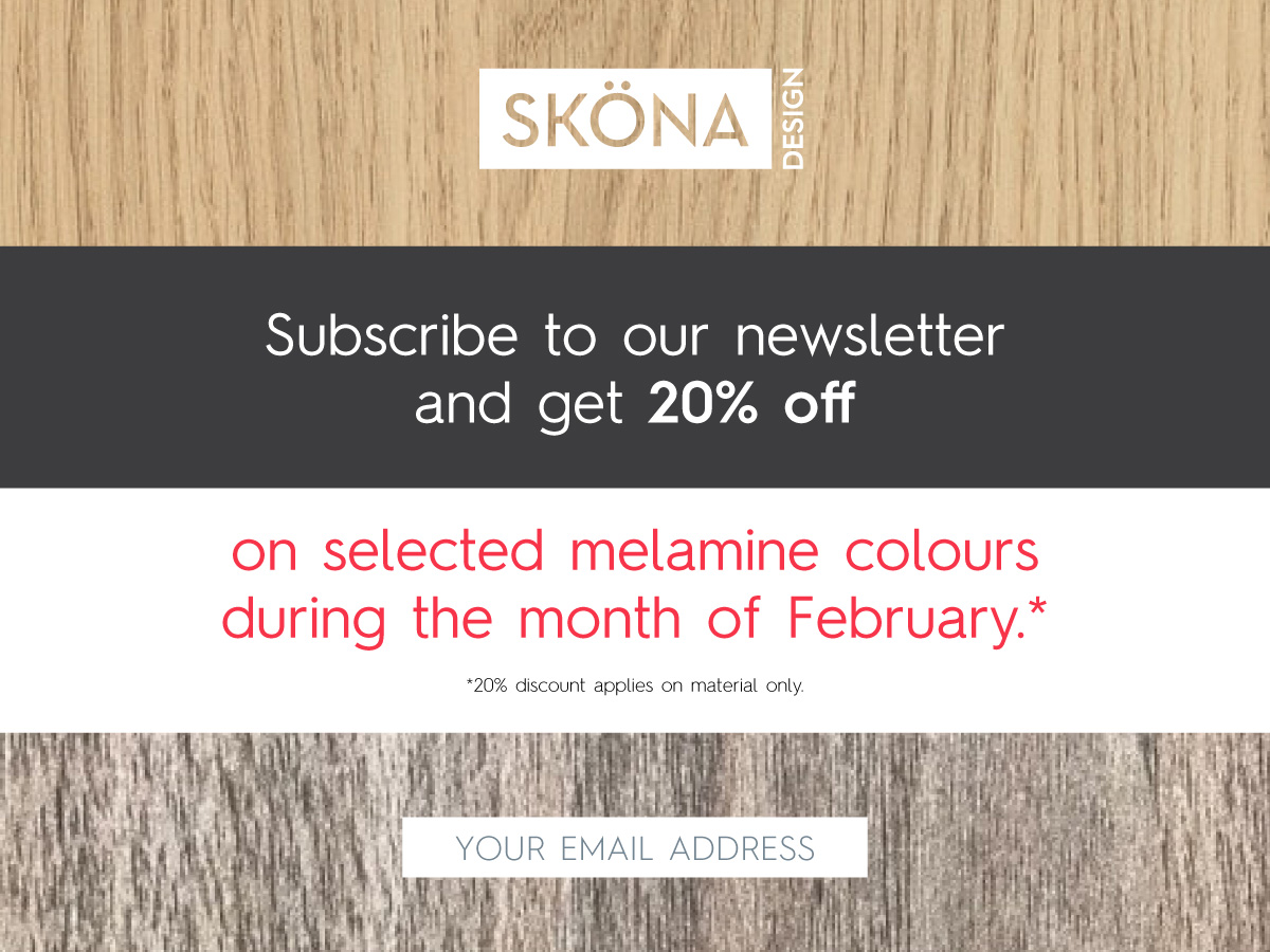 Subscribe to our newsletter and get 20% off