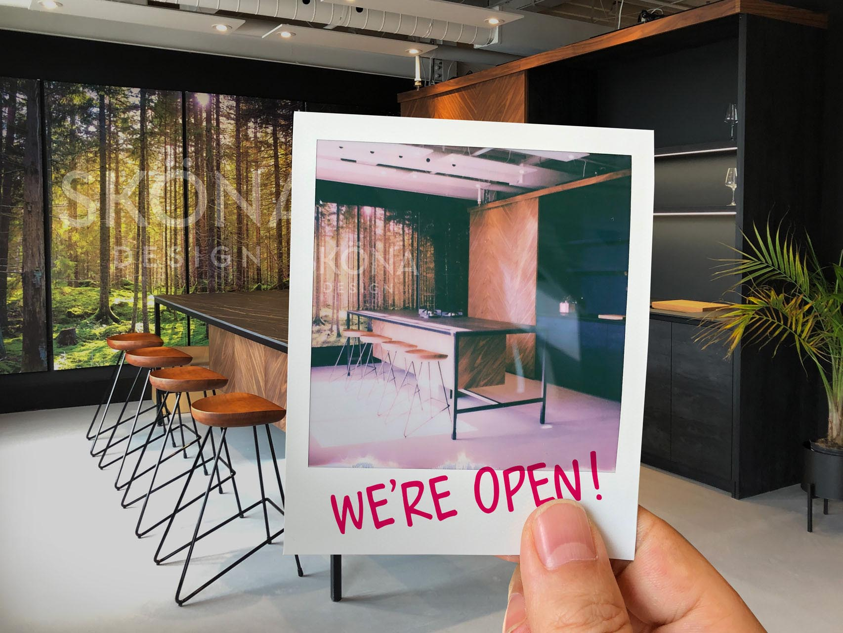 SKONA showroom open 2021